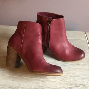 BP Bootie Genuine Leather Sz 6